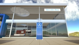 Mercedes Benz im Second Life