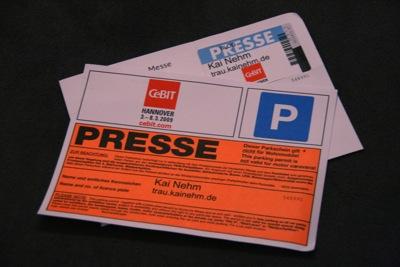 Presseausweis 2009