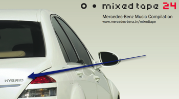 Hybrid Car as Cover for Mixed Tape 24