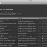 """Spotify Suche """"Rossini Magpie"""""""