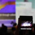 iPad im Publikum